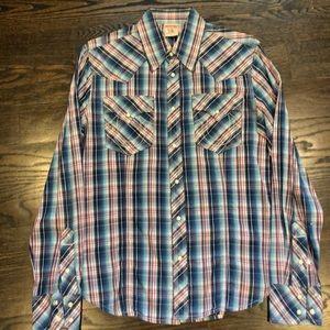 True Religion button down shirt